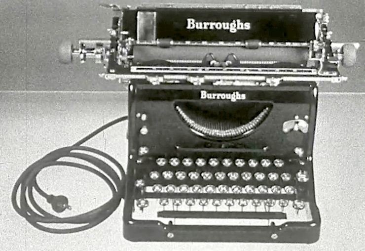 "Film still from ""Know Your Typewriter"" courtesy of Prelinger Archives and archive.org"